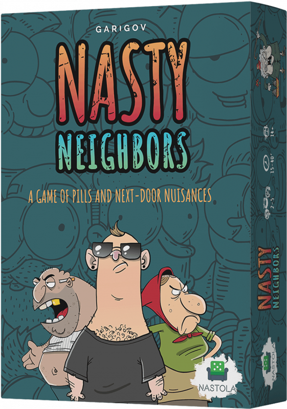 Nasty Neighbors Board Game Box